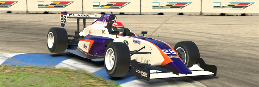 Indy Pro 2000 Banner